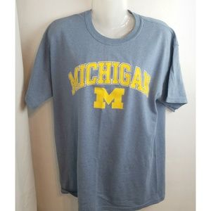 "Vintage NCAA ""M"" Michigan Wolverines T-Shirt"